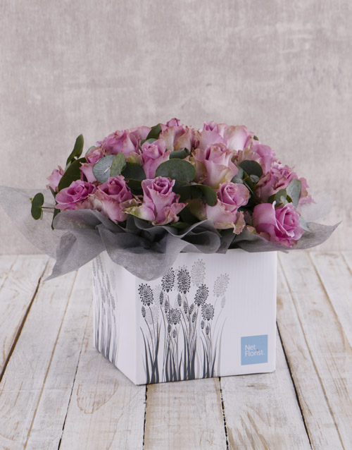 colour: Whimsical Roses in Fountain Box!