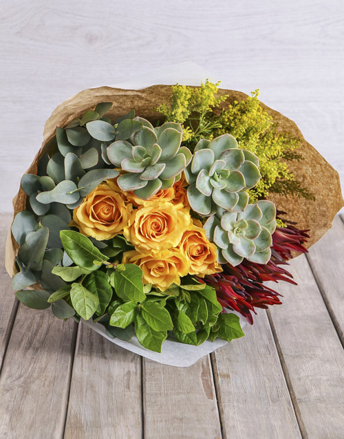 bouquets: Spikey Mixed Bouquet!