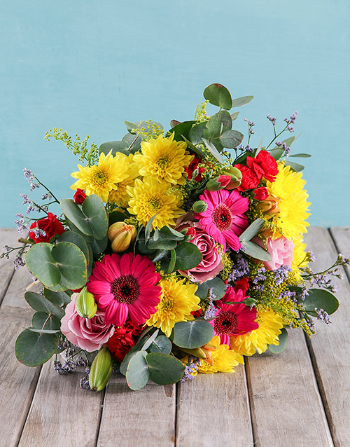 mixed: Vibrant Vibes Bouquet!