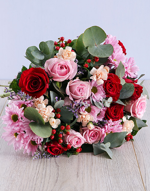 bouquets: Pretty in Pink Mixed Flowers!