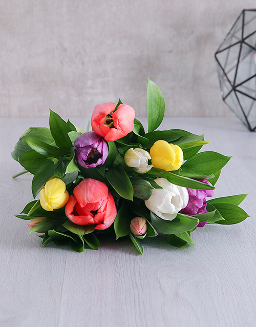 bouquets: Happiness Tulip Bouquet!