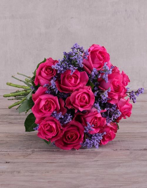 friendship: Delightful Cerise Roses !