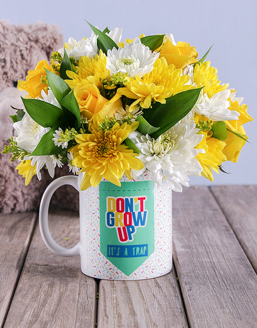 mugs: Bright Birthday Arrangement!
