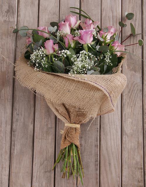 roses: Assorted Purple Rose Bouquet!