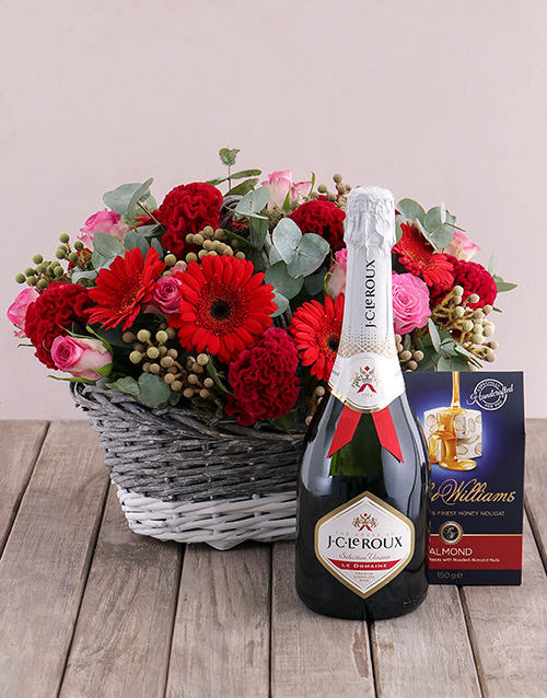 colour: Treat Me Flower Hamper!