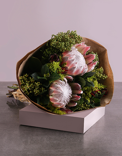Flowers: Mixed Proteas Bouquet!