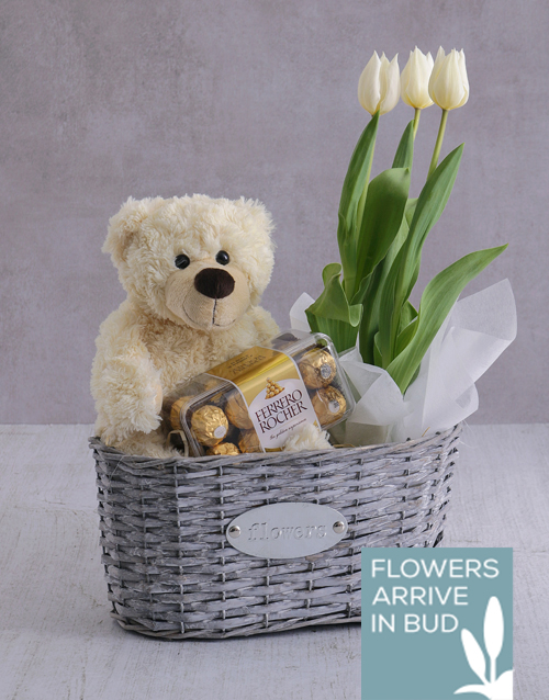 seasonal: Tulip Basket of Goodness!