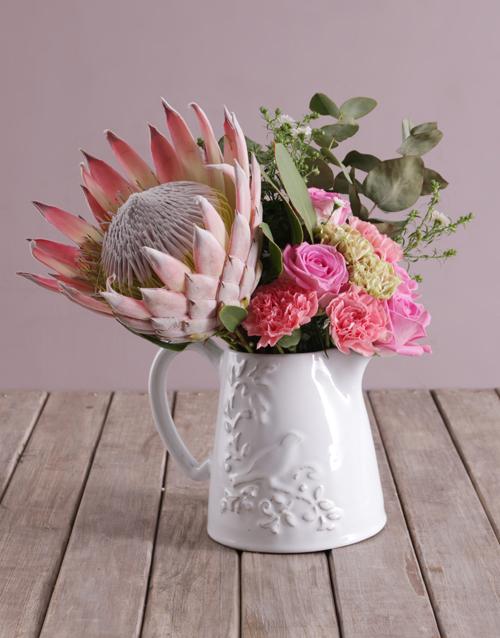 anniversary: Rose Protea Blossoms!