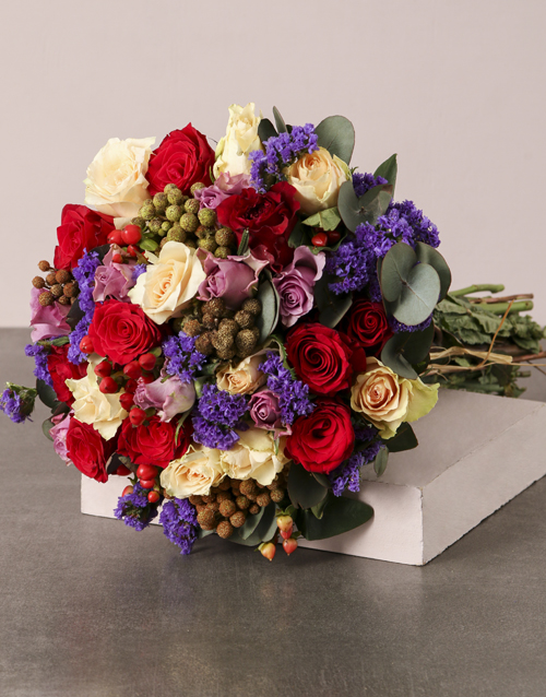 colour: Colourful Country Bouquet!