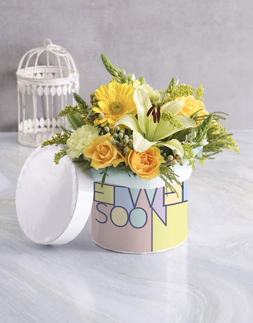 colour: Get Well Sunshine Hatbox!