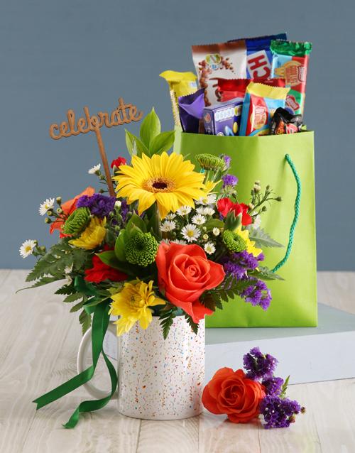 mugs: Celebration Floral Mug!
