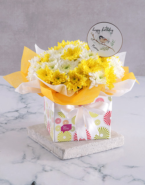 colour: Personalised Sunshine Sprays In Occasions Box!