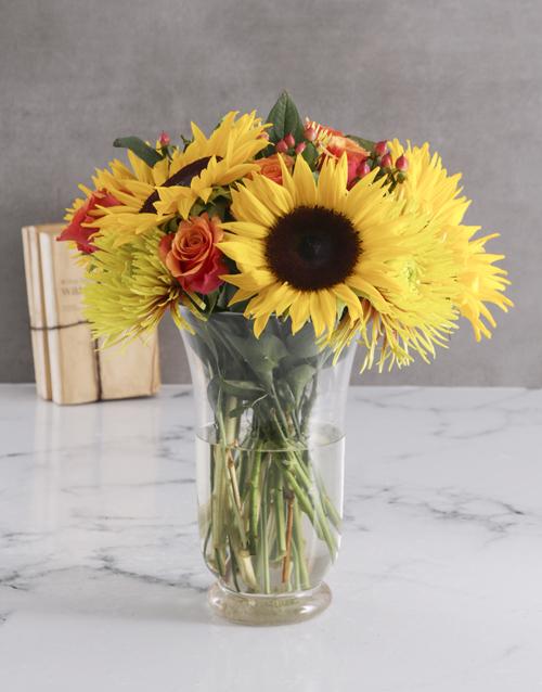 colour: Sunflower Harvest Vase!