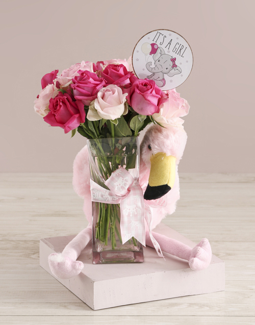 baby: Baby Girl Welcome Arrangement!