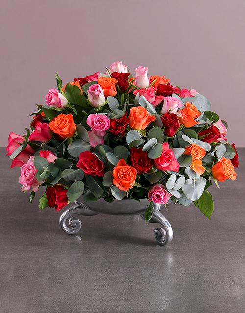 anniversary: Flourishing Rose Arrangement!
