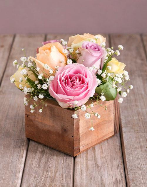 love-and-romance: Dainty Pastel Rose Arrangement!
