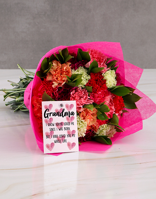 grandparents-day: Grand Carnation Surprise Gift!