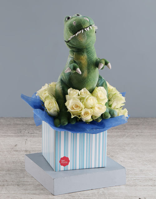 baby: Awesome Rose And Teddy Gift!