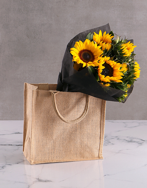 christmas: Packed With Love Sunflower Gift Hamper!