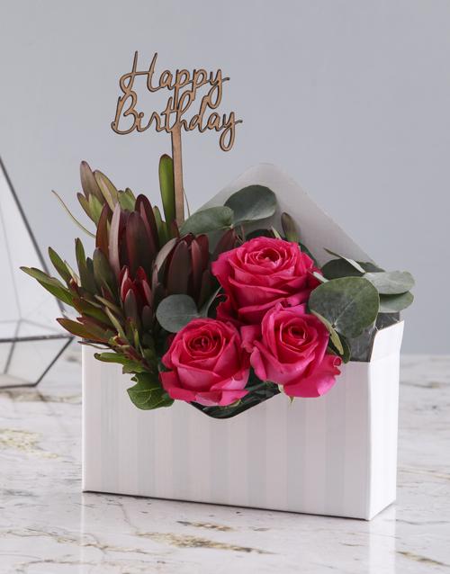 roses: Happy Birthday Cerise Rose Blossoms!