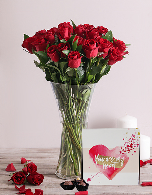 whats-new: Romantic Red Roses and Chocolates!