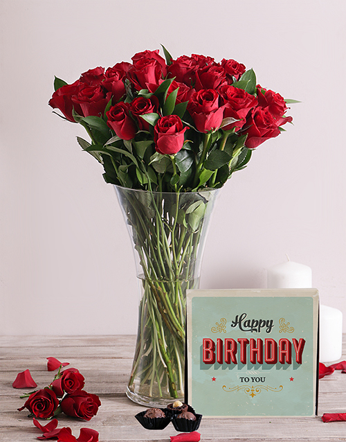 whats-new: Red Roses and Birthday Chocolates!