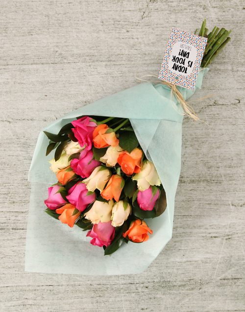 whats-new: Personalised Today is Your Day Bouquet!
