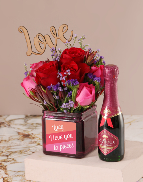 whats-new: Personalised Love You to Pieces Blooms!
