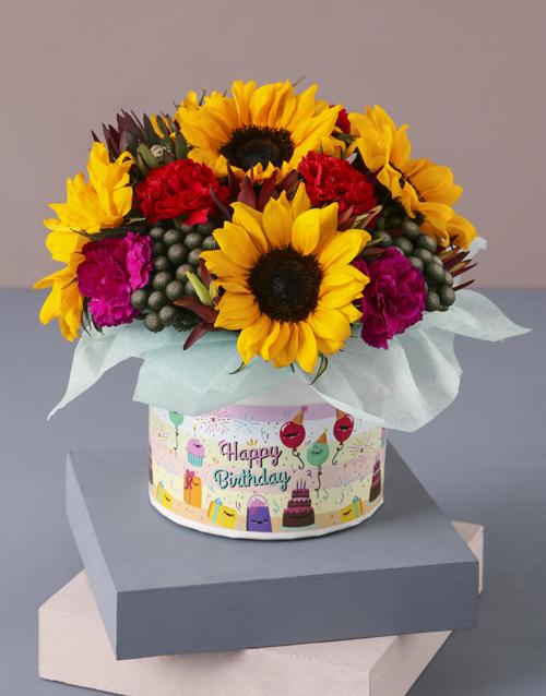 whats-new: Happy Birthday Sunflower Arrangement!