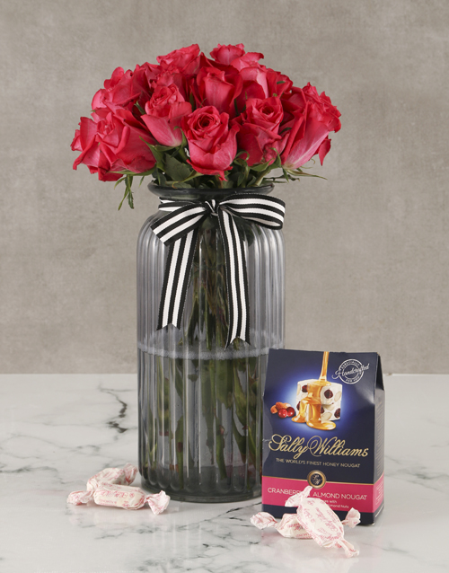 roses: Cerise Rose Surprise And Sally Williams!