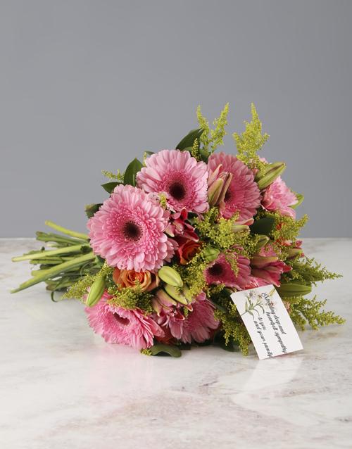 sympathy: Deepest Sympathies Mixed Flower Bouquet!