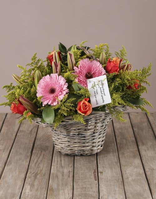 sympathy: Blooms of Sympathy Arrangement !