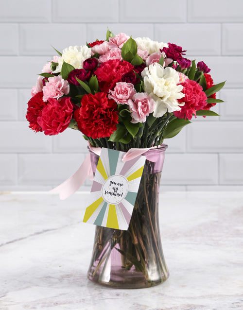 carnation: Thinking Of You Mixed Bouquet!