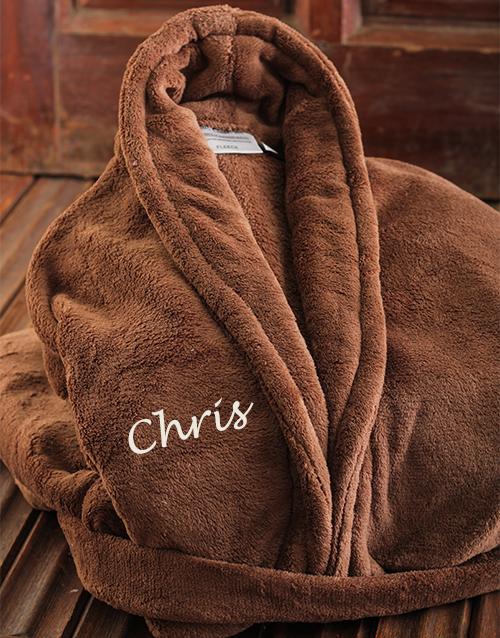 personalised: Personalised Brown Gown!