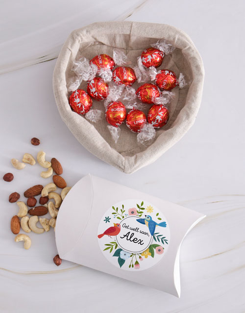 get-well: Personalised Get Well Nut Basket!