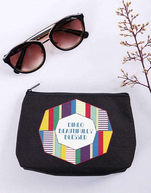 bath-and-body: Personalised Beautifully Blessed Cosmetic Bag!