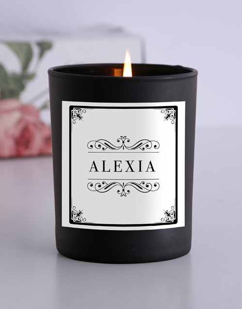 bath-and-body: Personalised Vintage Frame Candle!