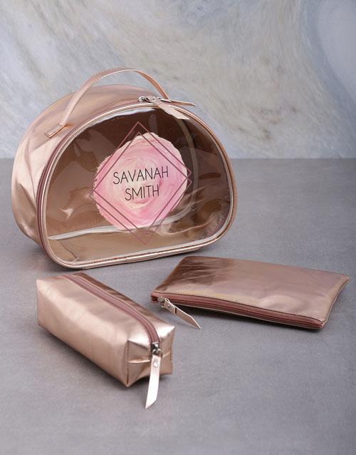 bath-and-body: Personalised Vanity Set Gift!