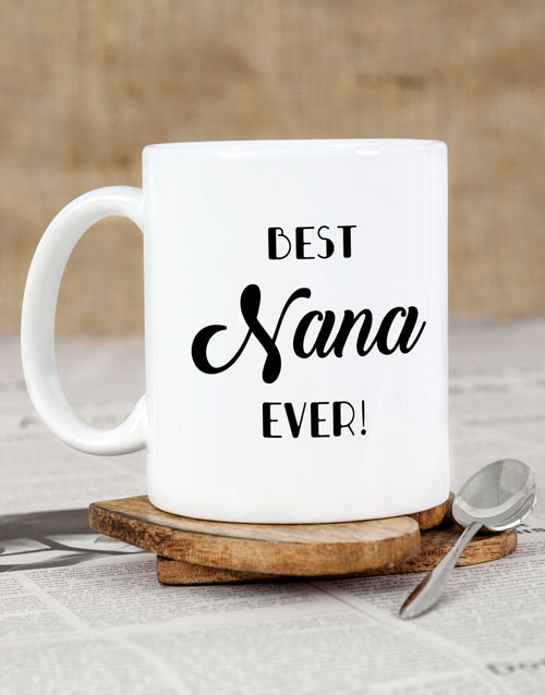 mothers-day: Personalised Best Nana Ever Mug!