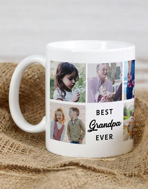homeware: Personalised Best Grandpa Ever Mug!