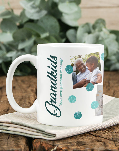 homeware: Personalised Grandkids Mug!