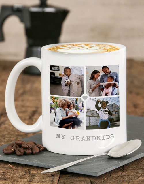 homeware: Personalised My Grandkids Mug!