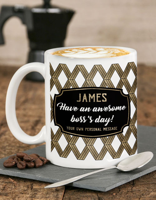 homeware: Personalised Awesome Day Mug!