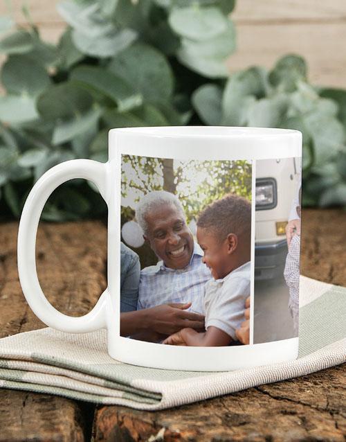 homeware: Personalised Three Photo Memory Mug!