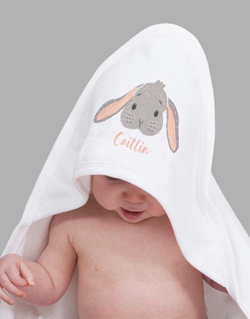 baby: Personalised Bunny Baby Gift Hamper!
