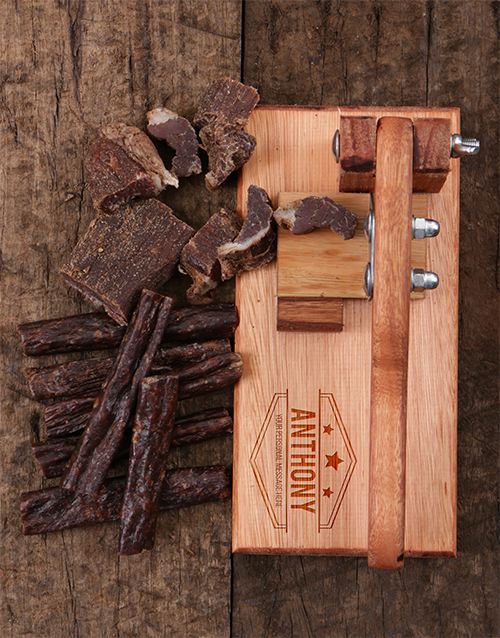 christmas: Personalised Biltong Cutter!