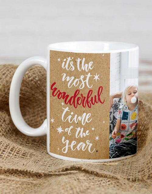 homeware: Personalised Wonderful Time Mug!