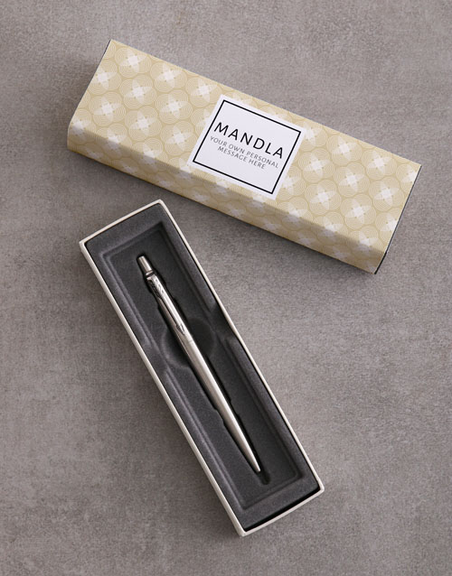 bosses-day: Personalised Modern Parker Pen Sleeve Box!