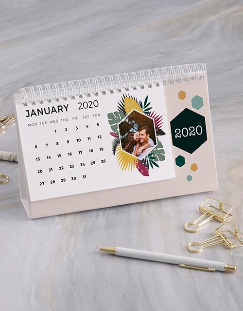christmas: Personalised Tropical Photo Desk Calendar!