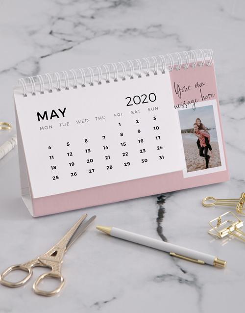personalised: Personalised Vintage Photo Desk Calendar!